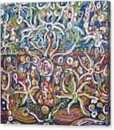 The Hidden Battle On Hidden Plains Canvas Print