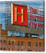 The History Channel Canvas Print