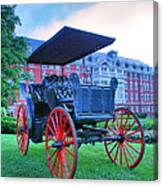 The Homestead Carriage II Canvas Print
