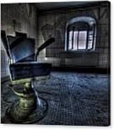The Horror Chair Canvas Print