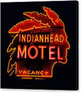 The Indianhead Canvas Print