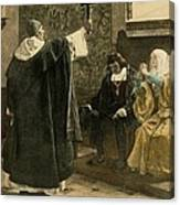The Inquisitor-general, Tom�s De Canvas Print