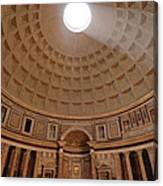 The Inside Of The Pantheon Canvas Print