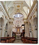 The Interior Of Santa Maria Assunta Canvas Print