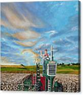 The Journey Of A Farmer Canvas Print