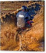 The Joy Of Mud Canvas Print