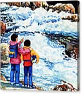 The Kayak Racer 14 Canvas Print