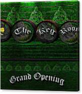 The Keg Room Grand Opening Version 3 Canvas Print
