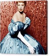 The King And I, Deborah Kerr, 1956 Canvas Print