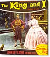 The King And I, Yul Brynner, Deborah Canvas Print