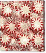 The Land Of Peppermint Candy Square Canvas Print