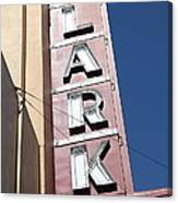 The Lark Theater In Larkspur California - 5d18489 Canvas Print