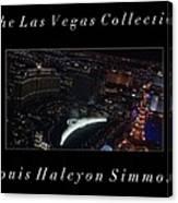 The Las Vegas Collection Canvas Print