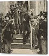 The Last Moments Of John Brown, Etching Canvas Print