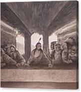 The Last Pow Wow Canvas Print
