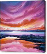 The Last Sunset Canvas Print