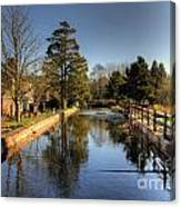 The Leat Canvas Print