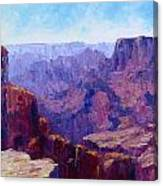 The Ledge Canvas Print