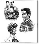 The Legends  Canvas Print