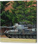 The Leopard 1a5 Main Battle Tank In Use Canvas Print