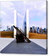 The Liberty State Park 911 Memorial Canvas Print