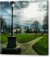 The Light Of A Winter's Day Canvas Print