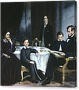 The Lincoln Family Canvas Print