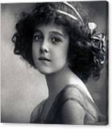 The Litte Angel 1911 Canvas Print