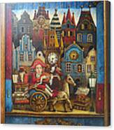 The Little Mozart Canvas Print