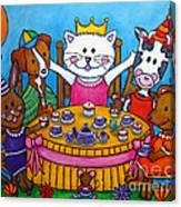 The Little Tea Party Canvas Print