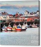 The Lobster Quay Canvas Print
