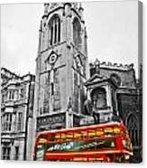 The London Bus Canvas Print