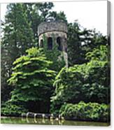 The Longwood Gardens Castle Canvas Print