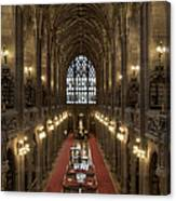 The Main Library Hall Canvas Print