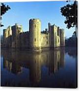 The Majestic Bodiam Castle And Its Canvas Print