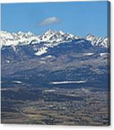 The Mancos Valley Canvas Print