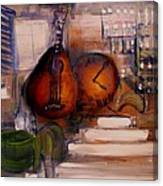 The Mandolin Canvas Print