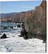 The Marin Headlands - California Shoreline - 5d19692 Canvas Print