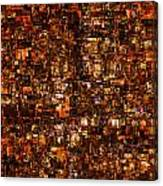 The Masses Of Metropolis Canvas Print
