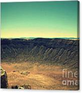 The Meteor Crater In Az 4 Canvas Print