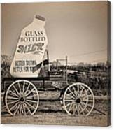 The Milk Wagon Canvas Print