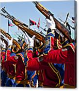 The Mongolian State Honor Guard Canvas Print
