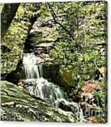 The Mystery Waterfall Canvas Print