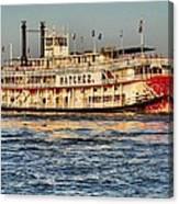 The Natchez Riverboat Canvas Print