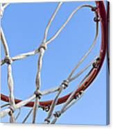 The Net And No Game Canvas Print