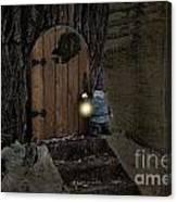 The Nightstalking Elf Canvas Print