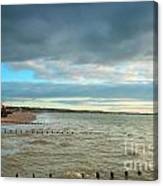 The North Bay Bridlington From The North Pier Canvas Print