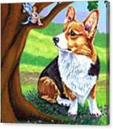 The Oak Tree Fae Canvas Print