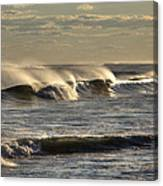 The Ocean Winds Canvas Print