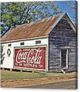 The Old Brantley Store Canvas Print